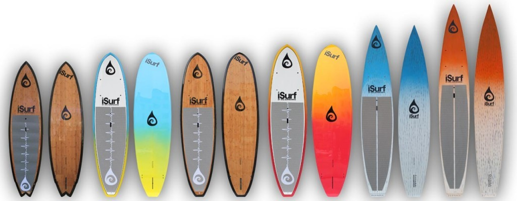 ISurf Standup Paddle Board Banner