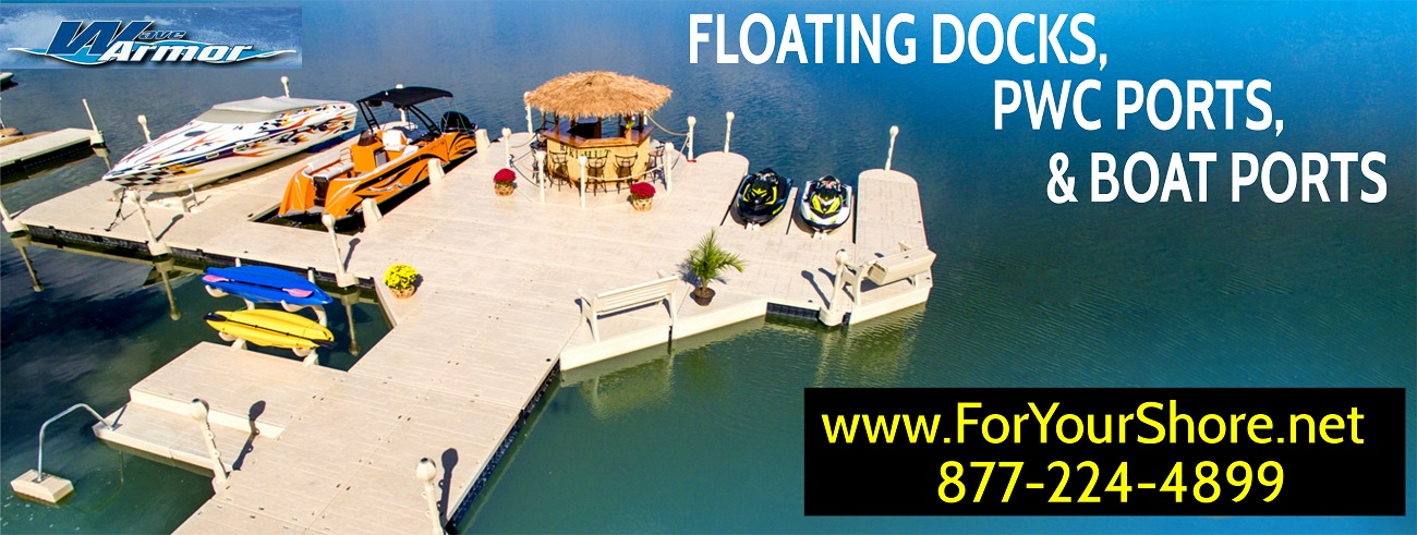 Wave Armor Floating Docks boat PWC port dealer Minnesota Minneapolis